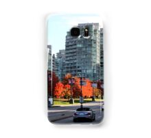 Autumn in Downtown Vancouver, Canada Samsung Galaxy Case/Skin