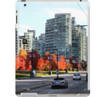 Autumn in Downtown Vancouver, Canada iPad Case/Skin