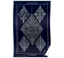 A Handbook Of Ornament With Three Hundred Plates Franz Sales Meyer 1896 0289 Enclosed Ornament Lozenge Panel Inverted Poster