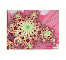 Pink Remembrances (Think Pink) Art Print