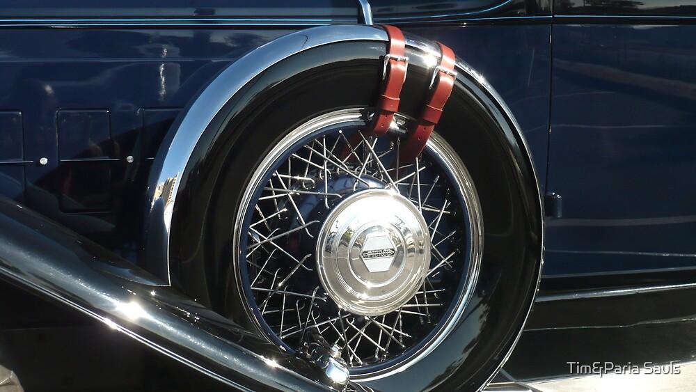 """Pierce Blue - $12,000 Tire"" by Tim&Paria Sauls"