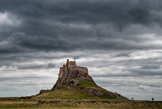 Lindisfarne Castle, Northumberland, UK by Chris Vincent