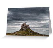 Lindisfarne Castle, Northumberland, UK Greeting Card
