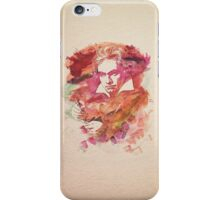 Ludwig van Beethoven Watercolor Remix  iPhone Case/Skin