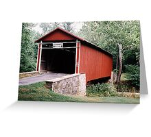 Witherspoon Bridge Greeting Card
