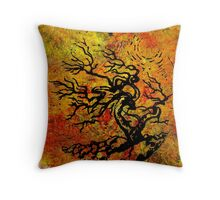 Old and Ancient Tree - Autumn Shades  Throw Pillow