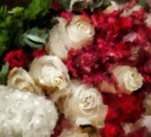 The Bride's Bouquet Sticker