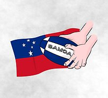 Samoa Rugby Flag by piedaydesigns