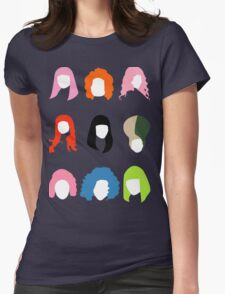 Nicki's Hair Womens Fitted T-Shirt