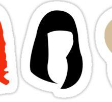 Nicki's Hair Sticker