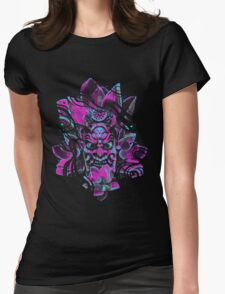 ONI MASK Womens Fitted T-Shirt