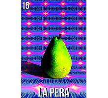 LOTERIA- LA PERA Photographic Print