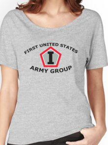 First United States Army Group (FUSAG) Women's Relaxed Fit T-Shirt