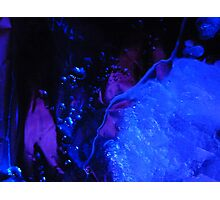 BLUE WORLD  Photographic Print
