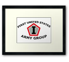 First United States Army Group (FUSAG) Framed Print