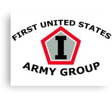 First United States Army Group (FUSAG) Canvas Print