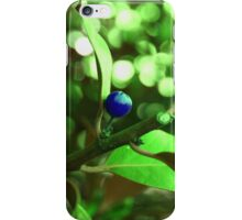 Unnatural Blue Lady iPhone Case/Skin