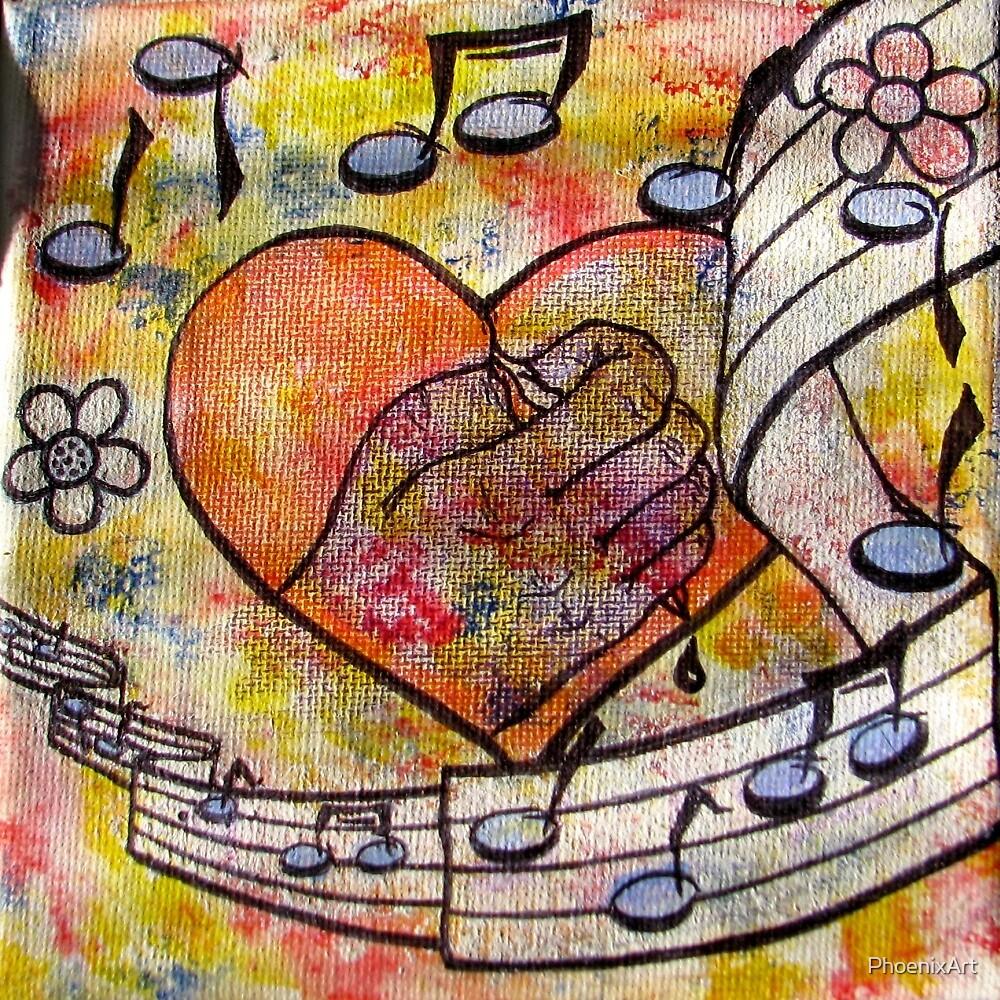 Sing My Soul by PhoenixArt
