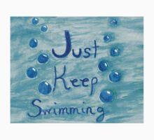 Just Keep Swimming Baby Tee