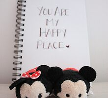 Happy Place - Mickey & Minnie by petitsbonheurs