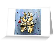 VooDoo Bunny Love Spell Greeting Card