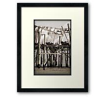 The Honeymoon Cottage V Framed Print