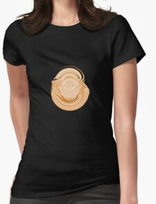 """Orb 7 """"Omfinity"""" Womens Fitted T-Shirt"""