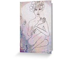 Nude. Greeting Card
