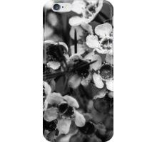 BW flowers iPhone Case/Skin