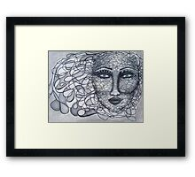 Pieces Of Her Framed Print
