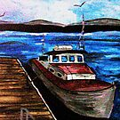 Lobster Boat by pinetreeart