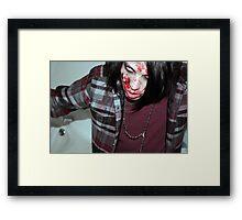 01 Zombie Framed Print