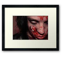 02 Zombie Framed Print