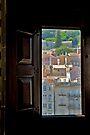 Modern View/ Ancient Window by Ainsley Kellar Creations