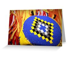 Native American Headband Greeting Card