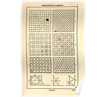 A Handbook Of Ornament With Three Hundred Plates Franz Sales Meyer 1896 0021 Geometrical Elements Network Poster