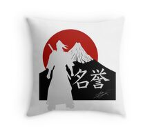 Fuji no Bushido Throw Pillow