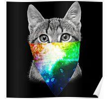 Galaxy Cat - Thug Life Poster