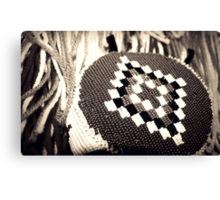 Native American Headband Canvas Print