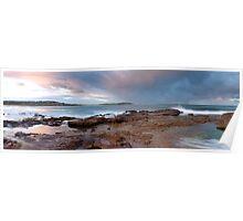 Dee Why Beach Sunset - Panoramic Poster