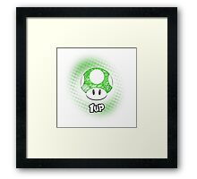1-UP from Mario Framed Print