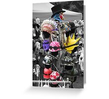 hat collection  Greeting Card