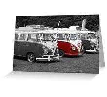 v/w dubs style ,  Greeting Card