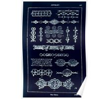 A Handbook Of Ornament With Three Hundred Plates Franz Sales Meyer 1896 0503 Jewelry Chain Inverted Poster