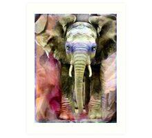 Baby Shaman Elephant Totem & Spirit Guide, 2007  Art Print