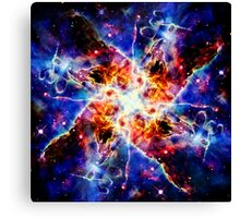 Nebulous Connection Canvas Print