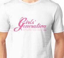 Girls' Generation - Cursive Unisex T-Shirt