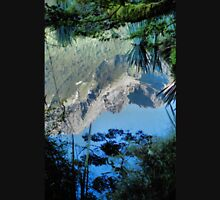 Mirror Lakes #2, New Zealand Unisex T-Shirt
