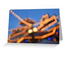 Blurred Paradise  Greeting Card