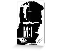 Mission: Impossible Greeting Card
